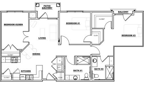 Madison - Floor Plans