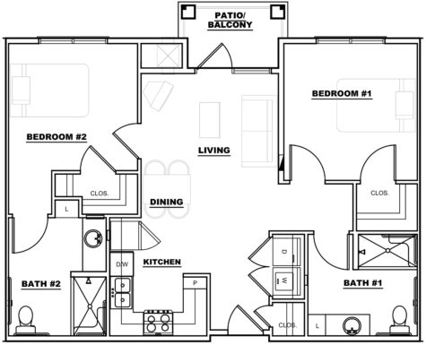 rebecca 1 - Floor Plans